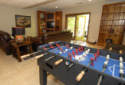 Lake House Lakefront Norris Lake Cabin Rental,lone Mountain (heaven Sent), Basment Family Room, on Norris Lake - Heaven Sent in Tennessee - Lakehouse Vacation Rental - Lake Home for rent on LakeHouseVacations.com