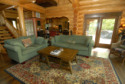 Lake House Lakefront Norris Lake Cabin Rental,lone Mountain (heaven Sent), Great Room, on Norris Lake - Heaven Sent in Tennessee - Lakehouse Vacation Rental - Lake Home for rent on LakeHouseVacations.com