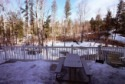 Bowerbank Maine Vacation Rental Chalet Style House On Sebec Lake, view out back, on Sebec in Maine - Vacation Rental - Home for rent on LakeHouseVacations.com