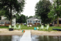Lake House **completely Renovated 2016**lakefront Cottage With Sandy Beach, Cottage from the pier, on 	Winona Lake	 in Indiana - Lakehouse Vacation Rental - Lake Home for rent on LakeHouseVacations.com