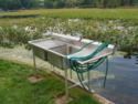 Lake Webster, Treehouse Island, Weekly Rental, Indiana, Fish Cleaning Station, on Lake Webster in Indiana - Vacation Rental - Home for rent on LakeHouseVacations.com