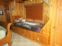 Lake House Lake Webster, Treehouse Island, Weekly Rental, Indiana, Window Seat/Twin Bed in Master BR, on 	Webster Lake	 in Indiana - Lakehouse Vacation Rental - Lake Home for rent on LakeHouseVacations.com