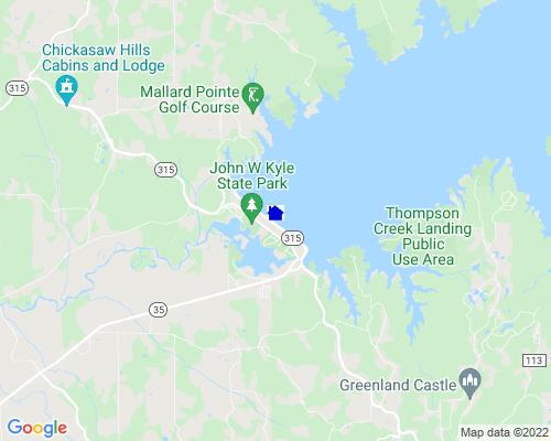 Sardis Lake Cabins Mississippi Campground Details John W