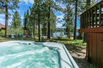 Lake House LAKEFRONT! Close to Slopes, NEW HOT TUB LAKE Views! Quiet Location, , on Big Bear Lake in California - Lakehouse Vacation Rental - Lake Home for rent on LakeHouseVacations.com