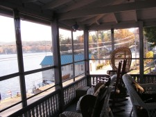 Lake House Victorian Lakefront Cottage With Spectacular Sunrise View Of Water, Front Porch Sitting Area, on Spofford Lake in New Hampshire - Lakehouse Vacation Rental - Lake Home for rent on LakeHouseVacations.com