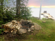 Lake House Classic Downeast Maine Lakefront Cottage - On Spring Fed Cathance Lake, Firepit on Shore, on Cathance Lake in Maine - Lakehouse Vacation Rental - Lake Home for rent on LakeHouseVacations.com