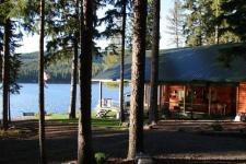 Lake House Mcgregor Lake Guest Ranch On 2.5 Acres With 175' Of Frontage, 340 McGregor Lane,  Marion MT - McGregor Lake, on Mcgregor Lake in Montana - Lakehouse Vacation Rental - Lake Home for rent on LakeHouseVacations.com