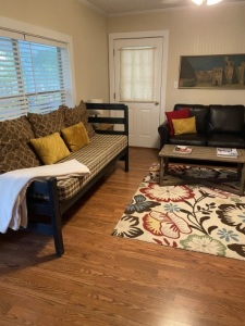 Lake House Lake Bruin Guest House, Porch, on Lake Bruin in Louisiana - Lakehouse Vacation Rental - Lake Home for rent on LakeHouseVacations.com