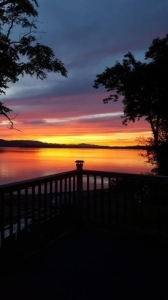 Lake House Lake Champlain Modern Cottages! Rent 1, 2 Or All 3! Perfect For Couples/large Groups!,  This can be your nightly view! It will was taken on your huge deck!, on Lake Champlain in Vermont - Lakehouse Vacation Rental - Lake Home for rent on LakeHouseVacations.com