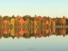 Lake House Luxurious Lakeside Retreat , Come in the fall to enjoy the beautiful colors. Rates are lower., on Cold Stream Pond in Maine - Lakehouse Vacation Rental - Lake Home for rent on LakeHouseVacations.com