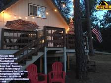 Lake House Sunshine Cabin Slps11 Wifi Deck W/ Patio Lights Central A/c, , on Pine Mountain Lake in California - Lakehouse Vacation Rental - Lake Home for rent on LakeHouseVacations.com
