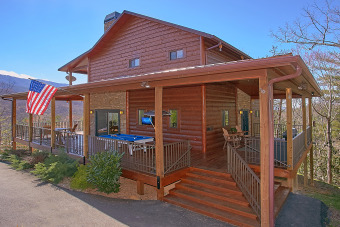 Lake House Ultra Luxury 1 Bedroom Cabin with Amazing Views, , on Webb Creek � Sevier County in Tennessee - Lakehouse Vacation Rental - Lake Home for rent on LakeHouseVacations.com