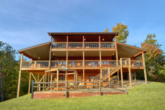 Lake House Luxurious Cabin with Amazing views from your outdoor Living Room, , on Webb Creek � Sevier County in Tennessee - Lakehouse Vacation Rental - Lake Home for rent on LakeHouseVacations.com