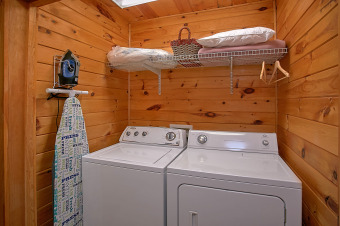 Lake House Romantic Getaway Cabin with Amazing Mountain Views, , on Powdermilk Creek - Gatlinburg in Tennessee - Lakehouse Vacation Rental - Lake Home for rent on LakeHouseVacations.com