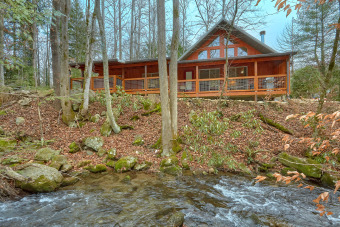 Lake House Escape to the Mountains Creekside!, , on Webb Creek � Sevier County in Tennessee - Lakehouse Vacation Rental - Lake Home for rent on LakeHouseVacations.com