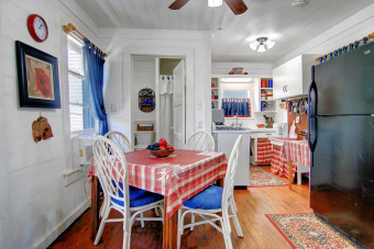Lake House Historical Waterfront Cottage! Private 20 foot pier! Amazing water views, , on Gulf of Mexico - Aransas Bay in Texas - Lakehouse Vacation Rental - Lake Home for rent on LakeHouseVacations.com