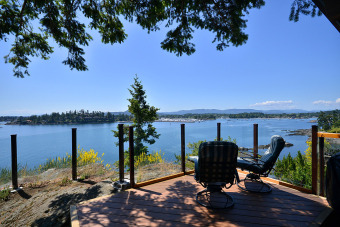 Lake House Spectacular Sidney 3 Bedroom Ocean Front Home with Incredible Island Views, , on British Columbia in British Columbia - Lakehouse Vacation Rental - Lake Home for rent on LakeHouseVacations.com