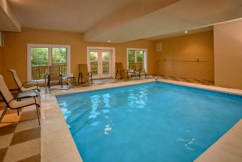 Lake House Enjoy a Private Indoor Pool and Home Theater Room - Sleeps 10!, , on Webb Branch � Cocke County in Tennessee - Lakehouse Vacation Rental - Lake Home for rent on LakeHouseVacations.com