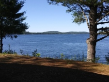 Lake House Camp On Swan Lake , View from front of camp, on Swan Lake in Maine - Lakehouse Vacation Rental - Lake Home for rent on LakeHouseVacations.com
