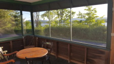Lake House Lake Champlain Modern Cottages! Rent 1, 2 Or All 3! Perfect For Couples/large Groups!, The Osprey cottage screened in porch overlooking the lake , on Lake Champlain in Vermont - Lakehouse Vacation Rental - Lake Home for rent on LakeHouseVacations.com