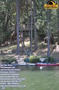 Lake House Super Awesome Location! Dock Canoe Paddleboat Dog Wifi 10ppl Near Yosemite, , on Pine Mountain Lake in California - Lakehouse Vacation Rental - Lake Home for rent on LakeHouseVacations.com