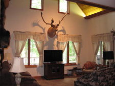 Lake House Caribou At Occoneechee, , on Kerr Lake / Buggs Island in Virginia - Lakehouse Vacation Rental - Lake Home for rent on LakeHouseVacations.com