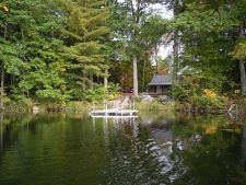Lake House Book Sept/oct 2021 Or Spring 2022, Picture of the cove taken from my boat--not a neighbor in sight, on Sand Pond in Maine - Lakehouse Vacation Rental - Lake Home for rent on LakeHouseVacations.com