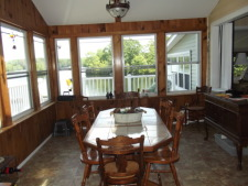 Lake House The Lake House, Dining Room., on Billings Lake in Connecticut - Lakehouse Vacation Rental - Lake Home for rent on LakeHouseVacations.com