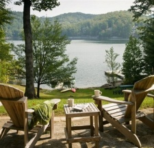 Lake House North Carolina Vacation Rental At Katie Camp, , on Glenville Lake in North Carolina - Lakehouse Vacation Rental - Lake Home for rent on LakeHouseVacations.com