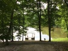 Lake House One Of A Kind Cedar Log Home, boat dock, on Lake Barkley in Kentucky - Lakehouse Vacation Rental - Lake Home for rent on LakeHouseVacations.com