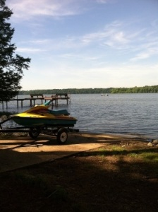 Lake House Pickwick Lake Rental Sunset Beach, Easy Water Access, Boat ramp on lot for your boat or jet skis., on Pickwick Lake in Alabama - Lakehouse Vacation Rental - Lake Home for rent on LakeHouseVacations.com