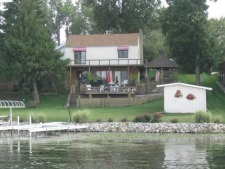 Lake House Beautifully Renovated Lake Home - Great Location, , on Jimmerson Lake in Indiana - Lakehouse Vacation Rental - Lake Home for rent on LakeHouseVacations.com
