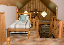 Lake House Log Cabin & Private Lake With Great Fishing, , on Timberline Lake in Indiana - Lakehouse Vacation Rental - Lake Home for rent on LakeHouseVacations.com
