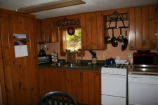 Lake House Book Sept/oct 2021 Or Spring 2022, Eat-in, well equipped kitchen, on Sand Pond in Maine - Lakehouse Vacation Rental - Lake Home for rent on LakeHouseVacations.com