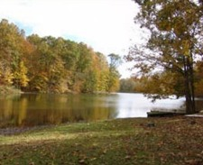 Lake House Log Cabin & Private Lake With Great Fishing, Beautiful in every season., on Timberline Lake in Indiana - Lakehouse Vacation Rental - Lake Home for rent on LakeHouseVacations.com