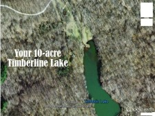 Lake House Log Cabin & Private Lake With Great Fishing, 46 acres of lake and forest, on Timberline Lake in Indiana - Lakehouse Vacation Rental - Lake Home for rent on LakeHouseVacations.com