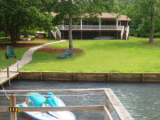 Lake House Relax And Enjoy Lake Sinclair In This Amazing 4br 3bath Rental With 250' Lake Front, House from the Lake, on Lake Sinclair in Georgia - Lakehouse Vacation Rental - Lake Home for rent on LakeHouseVacations.com