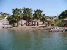 Lake House Yuma Arizona Vacation Rental  Lake Martinez, this is our beach, which is private and only you and me can use, on Martinez Lake in Arizona - Lakehouse Vacation Rental - Lake Home for rent on LakeHouseVacations.com