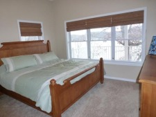 Lake House Perfect Family Vacation, Lower Master View - King Bed, on Lake of the Ozarks in Missouri - Lakehouse Vacation Rental - Lake Home for rent on LakeHouseVacations.com