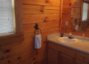 Lake House Rental Lake Norris Lone Mountain- Eagles Nest, Main Floor Bath, on Norris Lake in Tennessee - Lakehouse Vacation Rental - Lake Home for rent on LakeHouseVacations.com