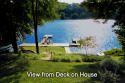 Direct Waterfront On Candlewood Lake, 2 Private Docks,  5 Bedrooms, Sleeps 10 on Candlewood Lake in Connecticut for rent on LakeHouseVacations.com