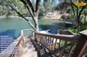 Dock Holiday Luxury Lakefront 12ppl Wifi Private Dock 3 Kayaks on Pine Mountain Lake in California for rent on LakeHouseVacations.com