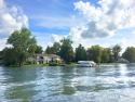 The Blue Heron Guest House, on Winona Lake, Lake Home rental in Indiana