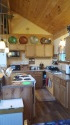 Lake House Lake Champlain Modern Cottages! Rent 1, 2 Or All 3! Perfect For Couples/large Groups!, The Golden Eagle cottage kitchen, on Lake Champlain in Vermont - Lakehouse Vacation Rental - Lake Home for rent on LakeHouseVacations.com