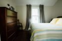 Lake House **completely Renovated 2016**lakefront Cottage With Sandy Beach, Master Bedroom queen bed, on Winona Lake in Indiana - Lakehouse Vacation Rental - Lake Home for rent on LakeHouseVacations.com
