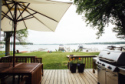 Lake House **completely Renovated 2016**lakefront Cottage With Sandy Beach, Lakeview from deck, on Winona Lake in Indiana - Lakehouse Vacation Rental - Lake Home for rent on LakeHouseVacations.com