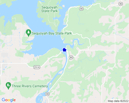 ft gibson lake map Fort Gibson Lake House And Cabin Rentals Lakehousevacations Com ft gibson lake map